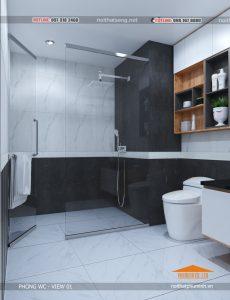thiết kế nội thất thi công nội thất phòng WC-VIEW1
