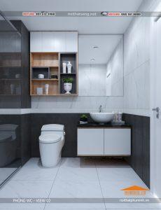 thiết kế nội thất thi công nội thất phòng WC-VIEW 2