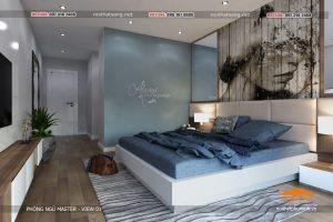 thiết kế nội thất phòng ngủ trẻ đẹp 1