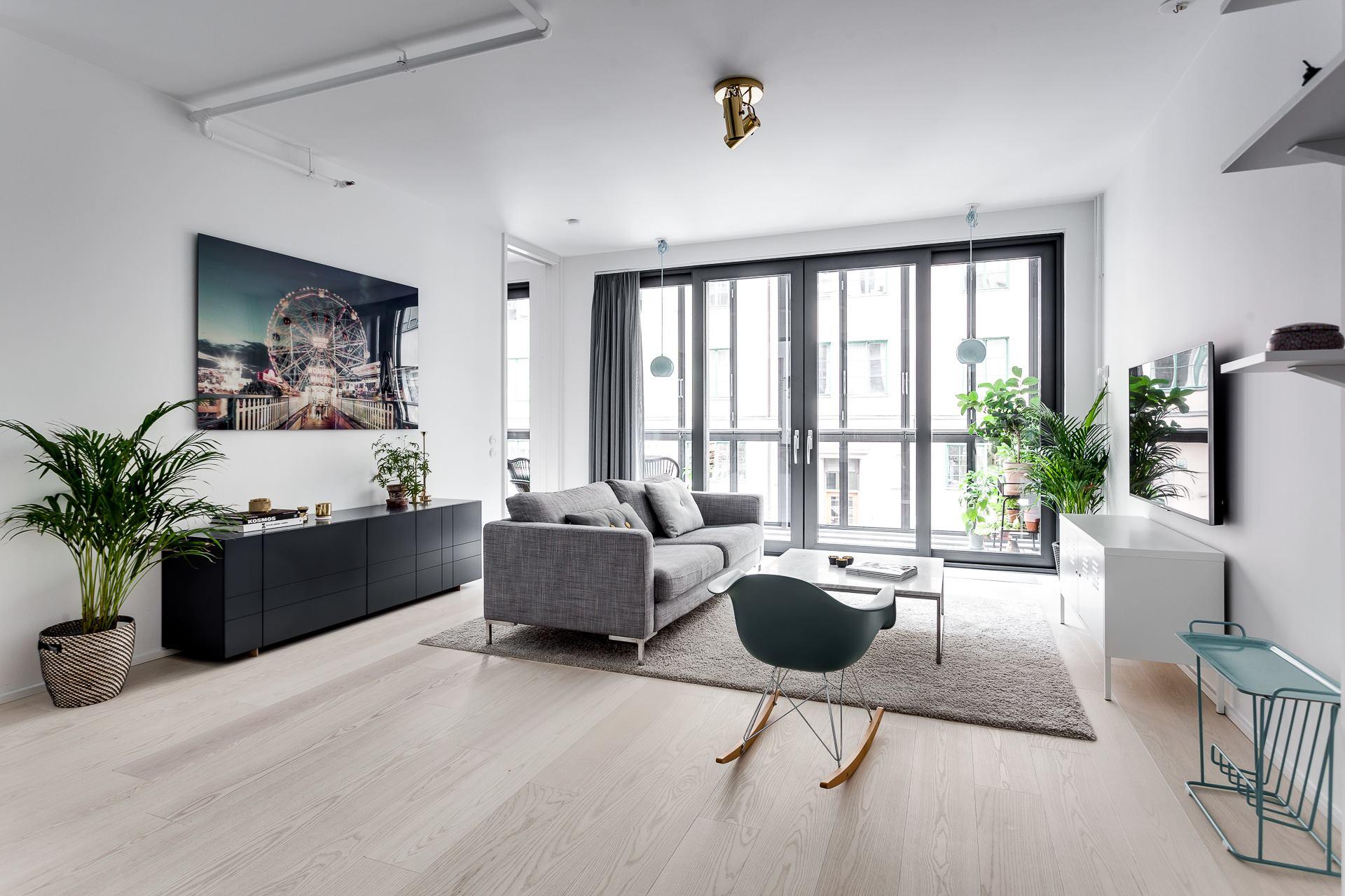 thiết kế nội thất phong cách bắc âu - Nội thất Phú Minh