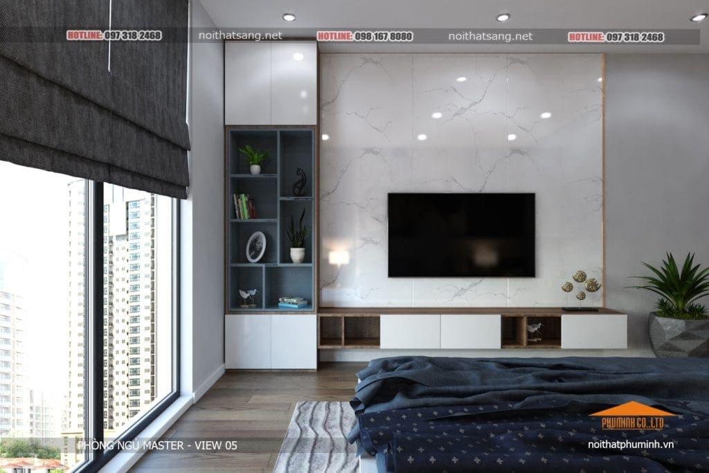 thiết kế nội thất phòng ngủ trẻ đẹp 5